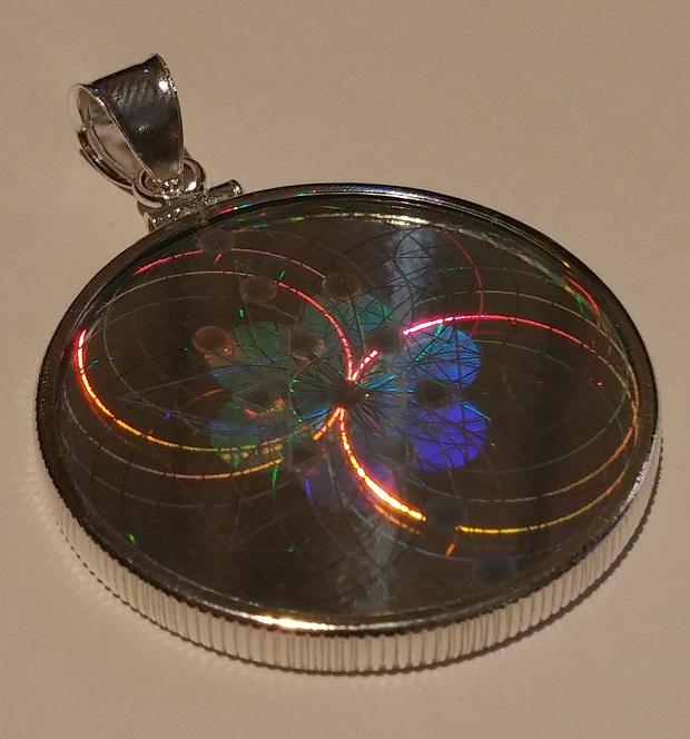 New sterling silver hologram pendants emf shield wifi and mobile new hologram pendant 3 aloadofball Choice Image