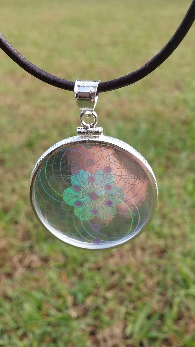 New sterling silver hologram pendants emf shield wifi and mobile new hologram pendant 4 aloadofball Choice Image