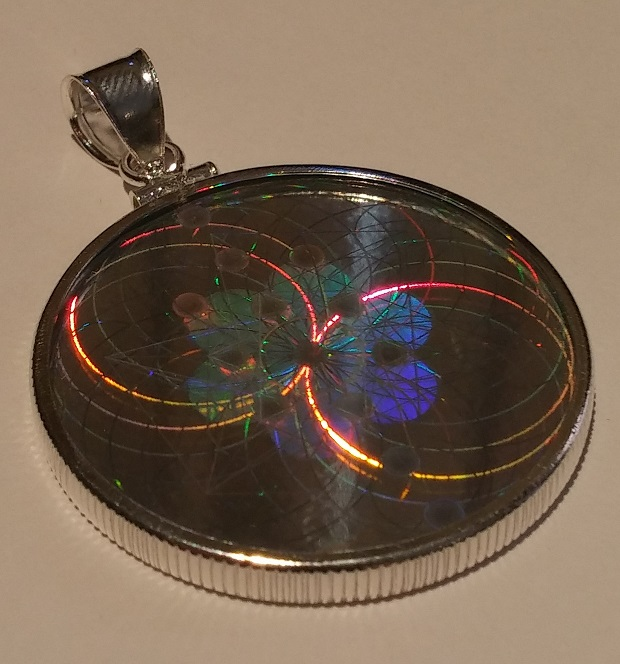 Emf protection pendant emf shield hologram offers health and wellness new hologram pendant 3 mozeypictures Image collections