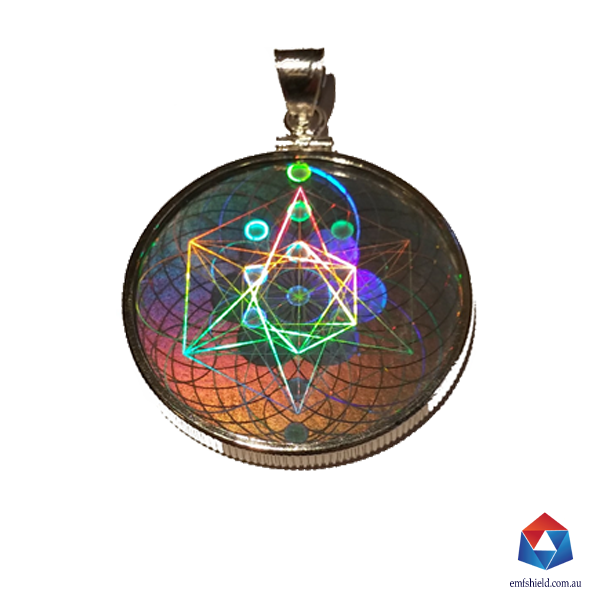 Emf protection pendant emf shield hologram offers health and wellness emf shield glass pendant mozeypictures Image collections
