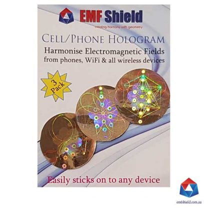 EMF-Shield-Hologram-3-Pack-gold