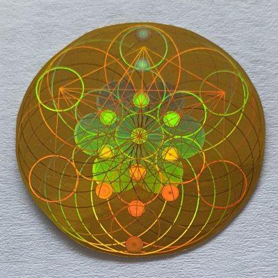 EMF Shield Hologram - Gold