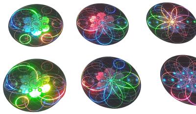 EMF Shield holograms