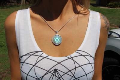 emf shield hologram pendant
