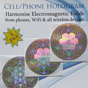 EMF Radiation Protection – Hologram 3 pack